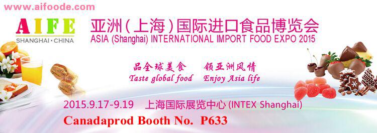 Asia International Import Food Expo Shanghai 2015