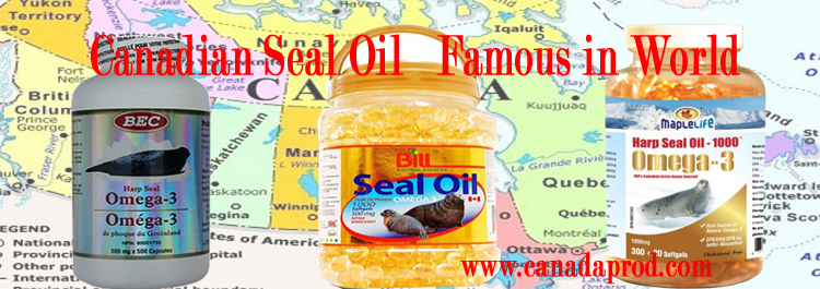 Canadian Seal Oil, the best quality, the best price.