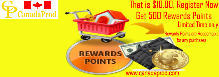 500 Rewards Points from Canadaprod