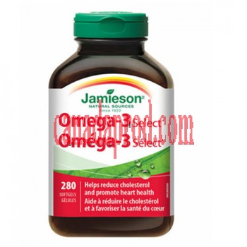 Jamieson Omega-3 Select 280 softgels