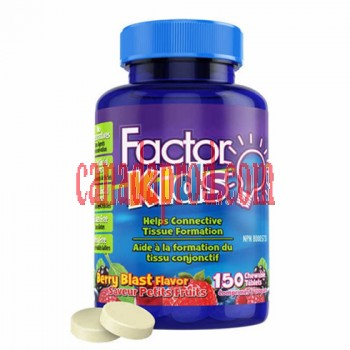 Factor Kids Complete Daily Vitamin 150 Chewable Tablets