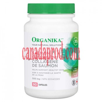 Organika Salmon Collagen 500 mg 90 Capsules