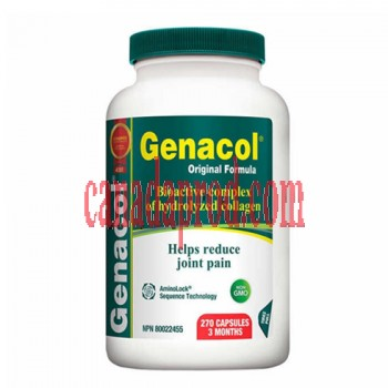 Genacol Original Formula 270 Collagen Capsules