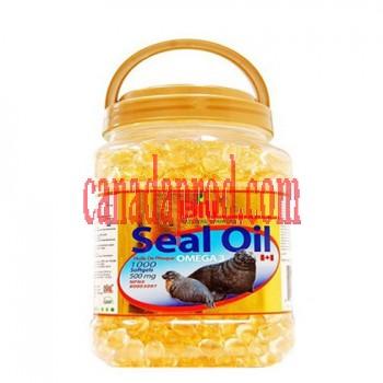 Bill Seal Oil Omega-3 500mg 1000 softgels