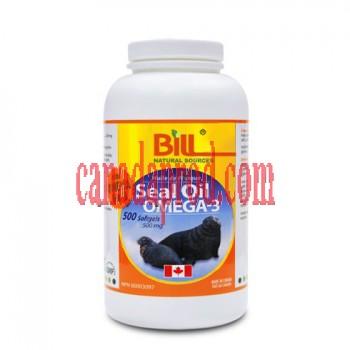 Bill Seal Oil Omega-3 500mg 500softgels