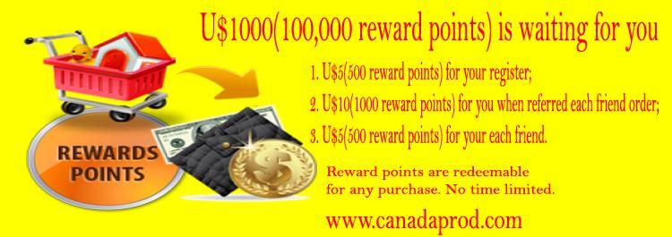 Canadaprod Reward points